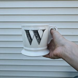 ANTHROPOLOGY MUGS! MORE LETTERS AVAILABLE!!